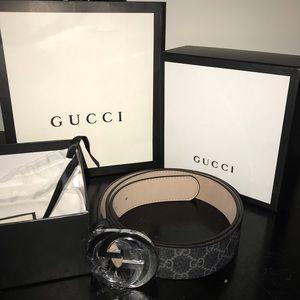 Gucci Belt (Authentic) For Men - Waist US 36-38